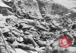 Image of Lancashire Fusiliers relaxing during lull in battle of the Somme France, 1916, second 10 stock footage video 65675048382