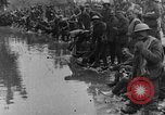 Image of British Essex Regiment soldiers washing up France, 1916, second 11 stock footage video 65675048383
