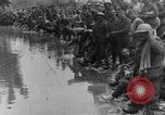 Image of British Essex Regiment soldiers washing up France, 1916, second 12 stock footage video 65675048383