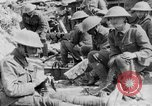 Image of Troops during lull in Battle of the Somme France, 1916, second 9 stock footage video 65675048384