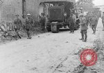 Image of British soldiers setup an 8-inch howitzer France, 1916, second 6 stock footage video 65675048385
