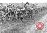 Image of British Worcestershire Regiment moving to the front lines France, 1916, second 7 stock footage video 65675048386