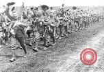 Image of British Worcestershire Regiment moving to the front lines France, 1916, second 9 stock footage video 65675048386