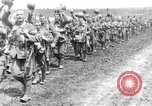 Image of British Worcestershire Regiment moving to the front lines France, 1916, second 11 stock footage video 65675048386