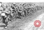 Image of British Worcestershire Regiment moving to the front lines France, 1916, second 12 stock footage video 65675048386