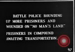 Image of British Battle Police round up German prisoners of war France, 1916, second 2 stock footage video 65675048389