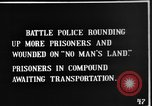 Image of British Battle Police round up German prisoners of war France, 1916, second 3 stock footage video 65675048389