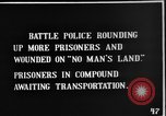 Image of British Battle Police round up German prisoners of war France, 1916, second 4 stock footage video 65675048389