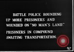 Image of British Battle Police round up German prisoners of war France, 1916, second 7 stock footage video 65675048389