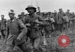 Image of British Battle Police round up German prisoners of war France, 1916, second 8 stock footage video 65675048389
