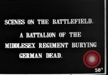 Image of Burial of dead German soldiers France, 1916, second 3 stock footage video 65675048391