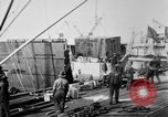 Image of Allied military equipment unloaded from the Arakan Bordeaux France, 1918, second 2 stock footage video 65675048399