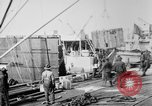 Image of Allied military equipment unloaded from the Arakan Bordeaux France, 1918, second 4 stock footage video 65675048399