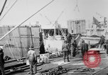 Image of Allied military equipment unloaded from the Arakan Bordeaux France, 1918, second 5 stock footage video 65675048399