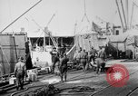 Image of Allied military equipment unloaded from the Arakan Bordeaux France, 1918, second 8 stock footage video 65675048399