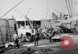 Image of Allied military equipment unloaded from the Arakan Bordeaux France, 1918, second 9 stock footage video 65675048399