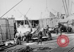 Image of Allied military equipment unloaded from the Arakan Bordeaux France, 1918, second 11 stock footage video 65675048399
