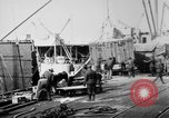 Image of Allied military equipment unloaded from the Arakan Bordeaux France, 1918, second 12 stock footage video 65675048399