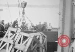 Image of a crane unloading military equipment Bordeaux France, 1918, second 8 stock footage video 65675048400