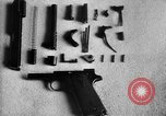 Image of Colt model 1911 semiautomatic pistol United States USA, 1918, second 12 stock footage video 65675048402