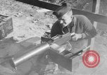 Image of Browning M1917A1 .30-caliber Water-Cooled Machine Gun United States USA, 1918, second 6 stock footage video 65675048407