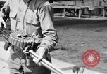 Image of Soldier displays a Lewis machine gun United States USA, 1918, second 7 stock footage video 65675048409