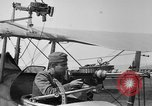 Image of Twin Lewis machine guns installed on DH-4 airplane Scarff ring United States USA, 1918, second 4 stock footage video 65675048411