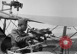 Image of Twin Lewis machine guns installed on DH-4 airplane Scarff ring United States USA, 1918, second 5 stock footage video 65675048411