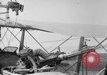 Image of Twin Lewis machine guns installed on DH-4 airplane Scarff ring United States USA, 1918, second 8 stock footage video 65675048411