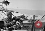 Image of Twin Lewis machine guns installed on DH-4 airplane Scarff ring United States USA, 1918, second 9 stock footage video 65675048411