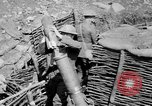 Image of Soldiers firing 6 inch mortar France, 1918, second 2 stock footage video 65675048419