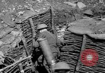Image of Soldiers firing 6 inch mortar France, 1918, second 4 stock footage video 65675048419