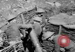 Image of Soldiers firing 6 inch mortar France, 1918, second 6 stock footage video 65675048419