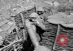 Image of Soldiers firing 6 inch mortar France, 1918, second 8 stock footage video 65675048419