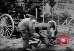 Image of Krupp 77 mm Field Gun Europe, 1918, second 1 stock footage video 65675048421