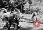 Image of Krupp 77 mm Field Gun Europe, 1918, second 3 stock footage video 65675048421