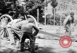 Image of Krupp 77 mm Field Gun Europe, 1918, second 4 stock footage video 65675048421