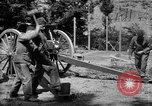 Image of Krupp 77 mm Field Gun Europe, 1918, second 9 stock footage video 65675048421