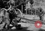 Image of Krupp 77 mm Field Gun Europe, 1918, second 10 stock footage video 65675048421
