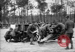 Image of French 75 field gun and caisson United States USA, 1918, second 11 stock footage video 65675048423