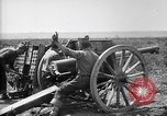 Image of American gunners fire battery of French 75 field pieces United States USA, 1918, second 2 stock footage video 65675048424