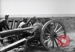 Image of American gunners fire battery of French 75 field pieces United States USA, 1918, second 4 stock footage video 65675048424