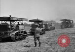 Image of Holt-Caterpillar model 75 artillery tractors France, 1918, second 6 stock footage video 65675048426