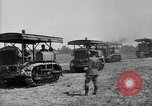 Image of Holt-Caterpillar model 75 artillery tractors France, 1918, second 7 stock footage video 65675048426