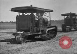 Image of Holt-Caterpillar model 75 artillery tractors France, 1918, second 9 stock footage video 65675048426