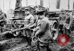 Image of 155mm long gun towed by army truck France, 1918, second 3 stock footage video 65675048427