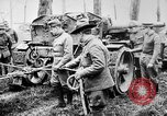 Image of 155mm long gun towed by army truck France, 1918, second 4 stock footage video 65675048427