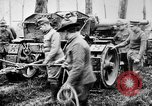 Image of 155mm long gun towed by army truck France, 1918, second 5 stock footage video 65675048427