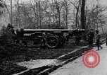 Image of 155mm long gun towed by army truck France, 1918, second 7 stock footage video 65675048427