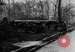 Image of 155mm long gun towed by army truck France, 1918, second 8 stock footage video 65675048427